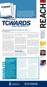 An image of the cover of Reach magazine, Spring 2012 issue