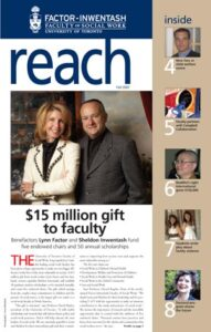 An image of the cover of Reach magazine, Fall 2007 issue