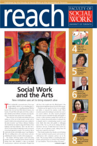 An image of the cover of Reach magazine, Spring 2007 issue