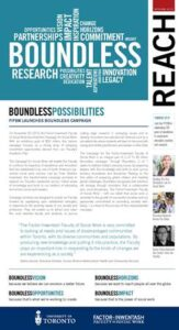 An image of the cover of Reach magazine, Spring 2013 issue