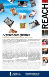 An image of the cover of Reach magazine, Summer 2009 issue