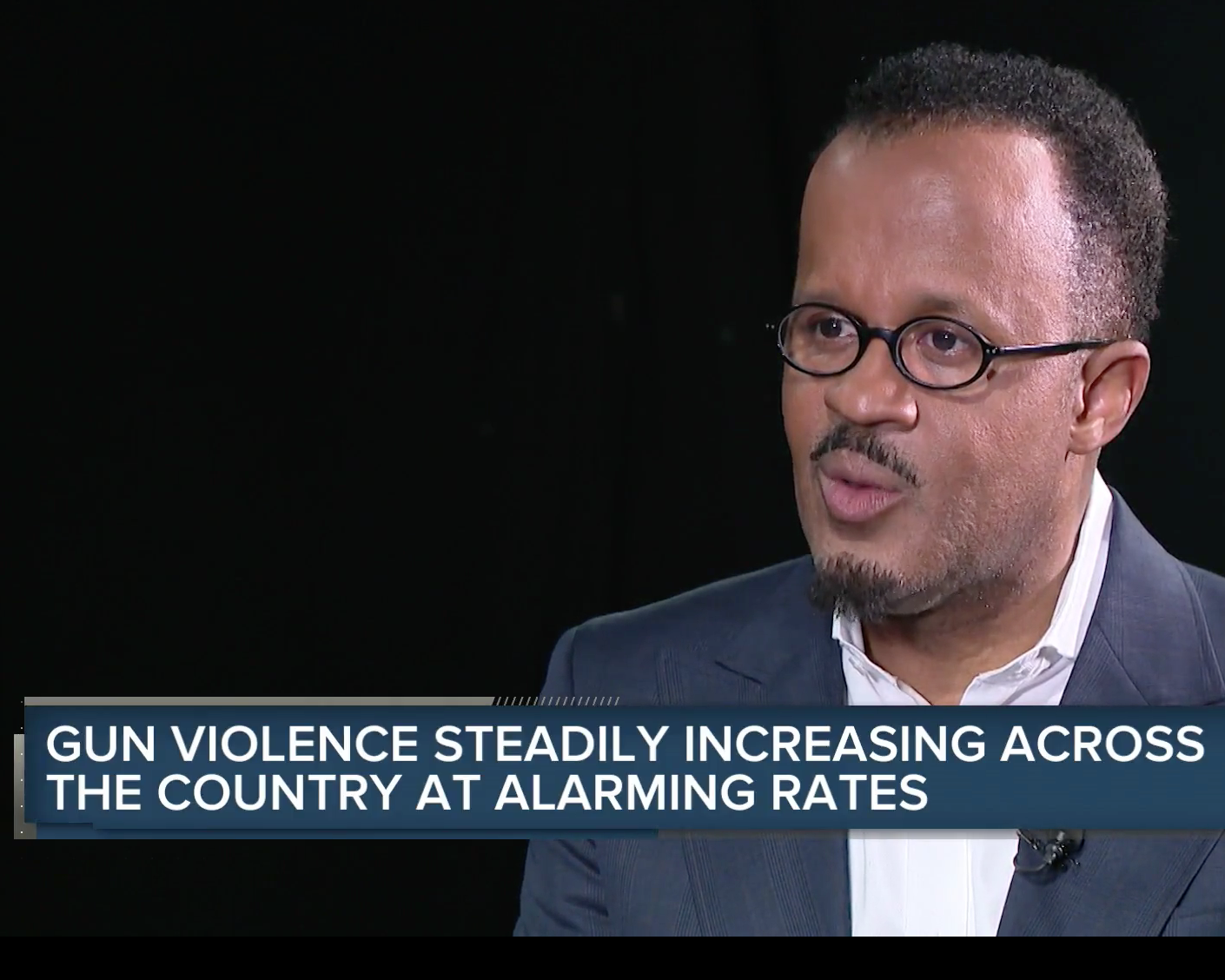 NewsNation interviews Dexter Voisin about the increasing violence in the US