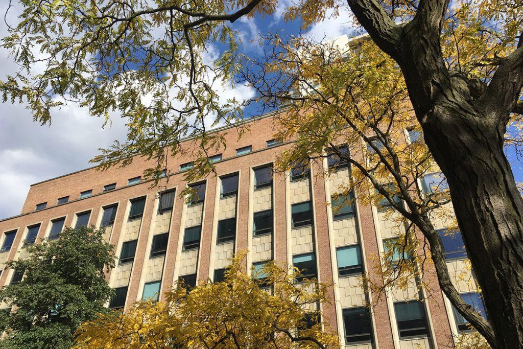 FIFSW building at 246 Bloor Street West