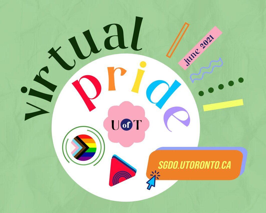 U of T 2021 Pride events
