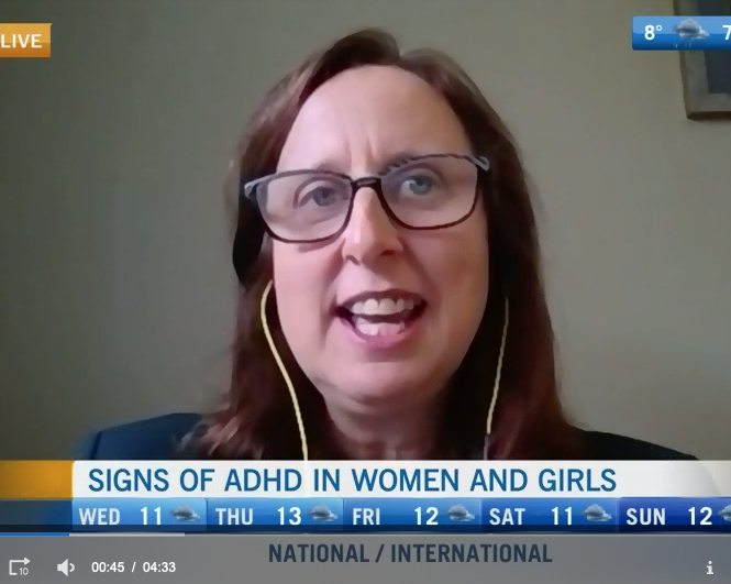 CTV News interviewed Esme Fuller-Thomson about her research on women with ADHD